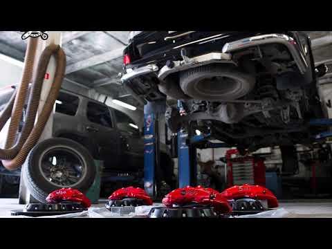 Апгрейд тормозной системы Toyota LC200
