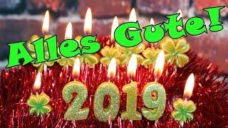 Neujahrsgrüße 2019 Video frohes neues Jahr Guten Rutsch wünschen whatsapp Lieder von Thomas Koppe