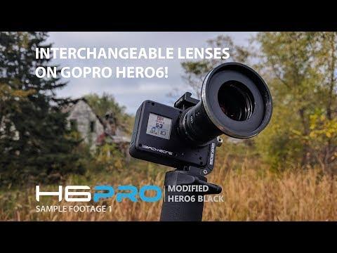 Interchangeable Lenses on GoPro Hero6