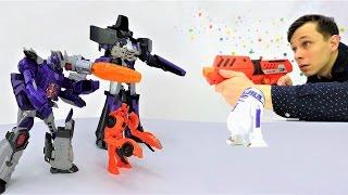Игры Звездные Войны, #Трансформеры! Десептиконы против Федора! Star Wars для детей.