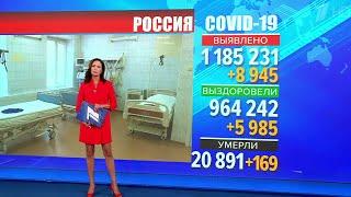 В России повышается суточный прирост новых случаев коронавируса