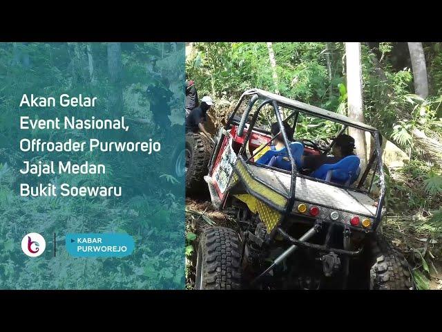 Akan Gelar Event Nasional, Offroader Purworejo Jajal Medan Bukit Soewaru