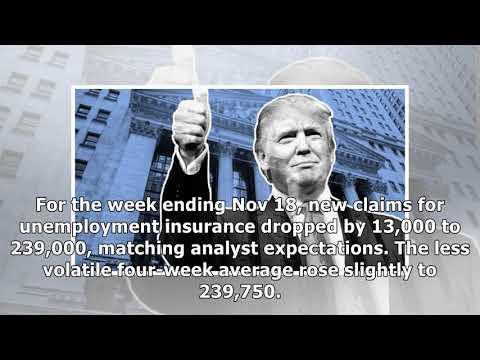 Us jobless claims fall as record run persists