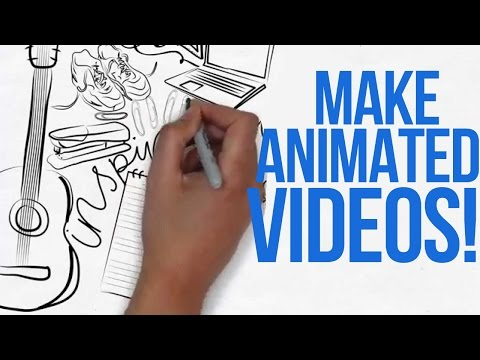 HOW TO MAKE ANIMATED VIDEOS LIKE ME!!