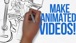 HOW TO MAKE ANIMATED VIDEOS LIKE ME