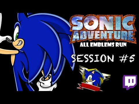 Twitch: Sonic Adventure - All Emblems: Session #5