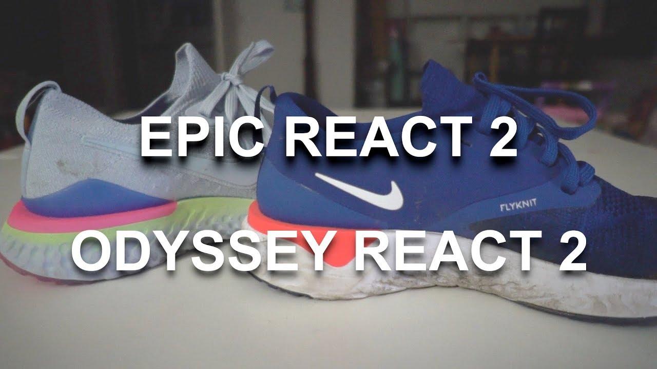 bcdd03de5555 Epic React 2 vs. Odyssey React 2 - YouTube