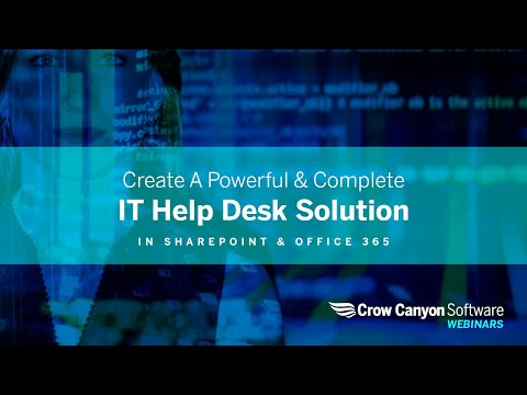 Office 365 SharePoint Help Desk: Powerful & Complete IT Help Desk Solution