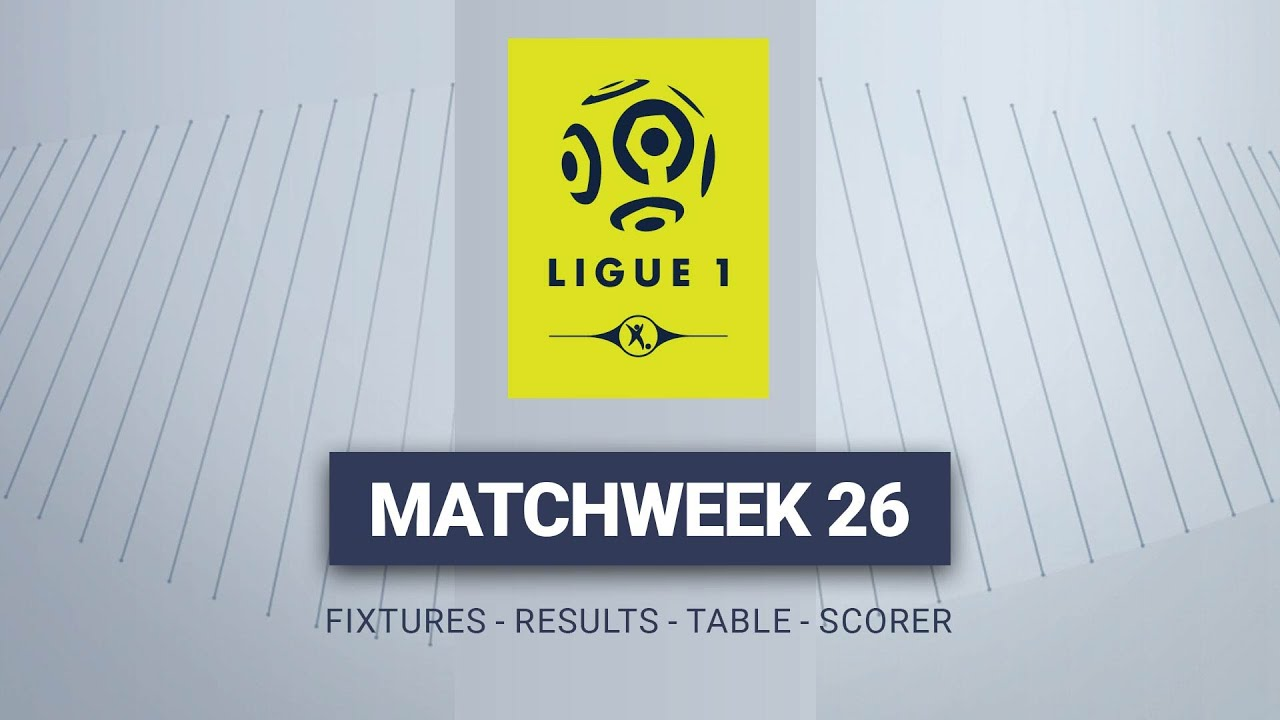 French Ligue 1 Fixtures