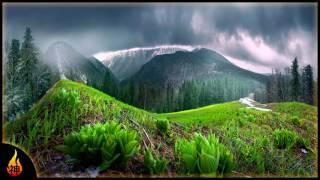 Relaxing Folk Music | Approaching Rain | Guitar & Banjo