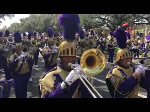 St. Aug's Marching 100 Mardi Gras 2017