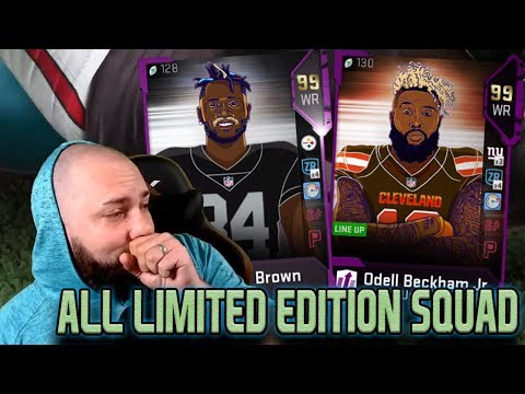 ALL LIMITED EDITION SQUAD BUILDER! MADDEN 19 ULTIMATE TEAM