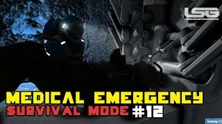 Space Engineers - Medical Emergency, Call The Doctor, Cyborg Part 12