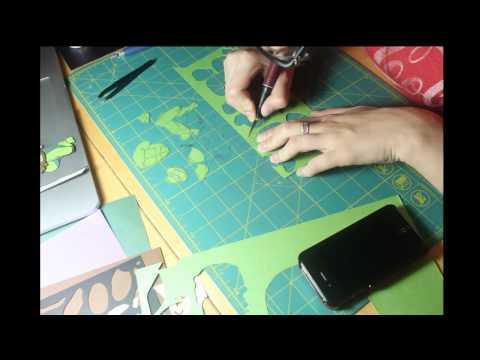 TMNT Teenage Mutant Ninja Turtles Paper Sculpt Progress Video