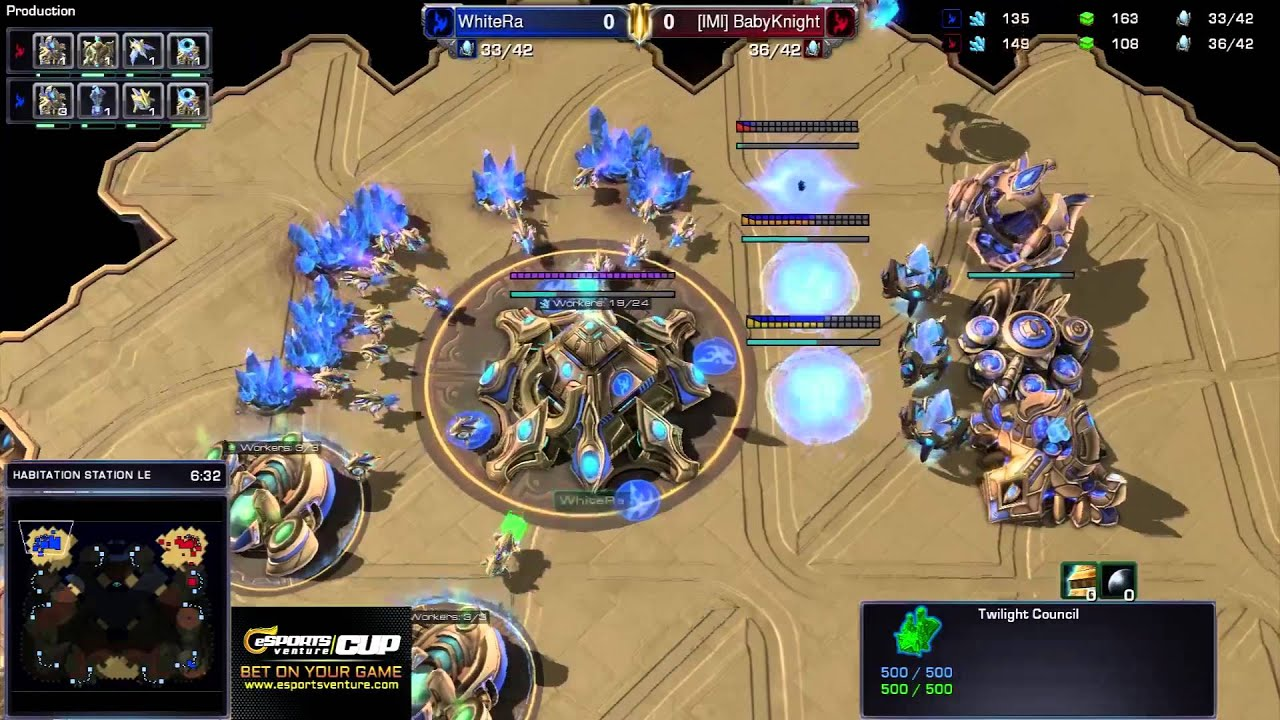 WhiteRa vs. BabyKnight - PvP - Game 1 - StarCraft 2