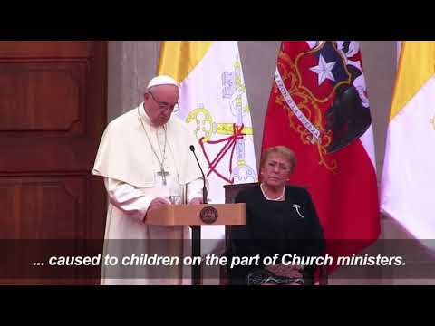 Pope In Chile Expresses 'Pain' And 'Shame' Over Abuse Scandal