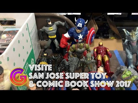 Le French Geek et Le San Jose Super Toy and Comic Book Show 2017