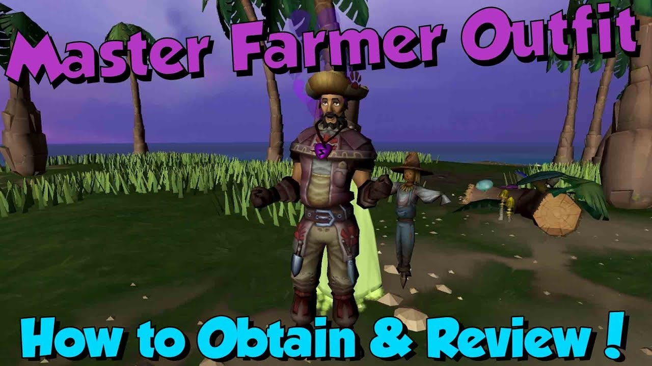 New Master Farmer Outfit Runescape 3 Review How To Get Youtube