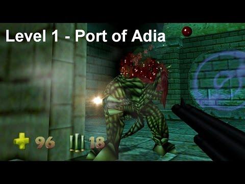 Turok 2 - Seed of Evil: Level 1 - Port of Adia (Speedrun) [4K]