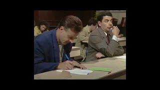 Mr bean at exam hall