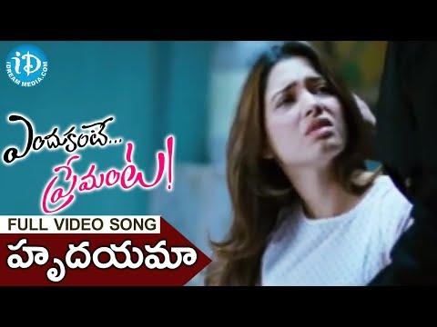Hrudayama Vadalake Song - Endukante Premanta Movie Songs - Ram - Tamanna - A Karunakaran