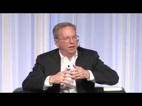 【11月4日アーカイブ】Googleエリック・シュミット氏が語る「インターネットの未来と私たちの働き方」