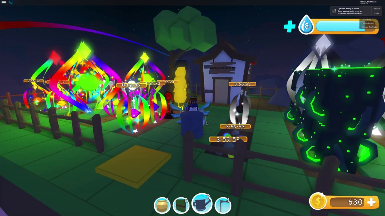 Roblox Flora Frenzy Growing The Best Seeds Galaxy Void Rainbow - flora frenzy roblox combinations