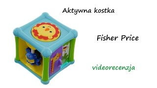 Aktywna kostka Fisher Price [videorecenzja]