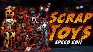 Download Fnaf 2 Speed Edit Ignited Toy Animatronics MP3, MKV