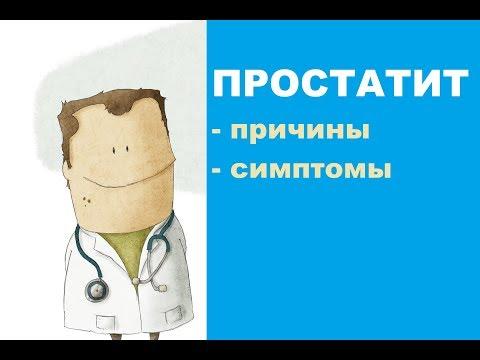 Причины возникновения и симптомы простатита у мужчин