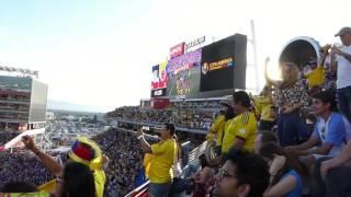 Colombia Soccer versus U.S.A. Goal. Copa America Santa Clara California, June 2016.