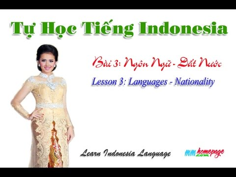 Giáo trình Complete Indonesian bài 3