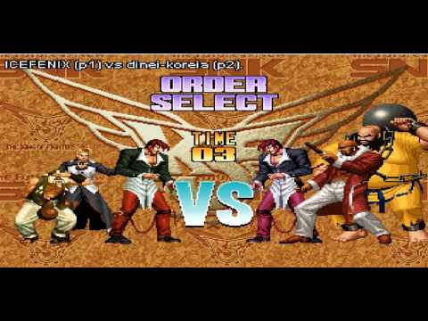 The King of Fighters 96 Internet Online Gameplay Argentina vs Brazil Chang Choi Chin