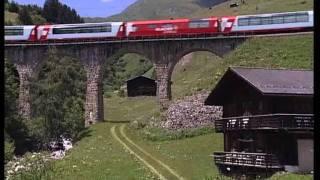 Eisenbahn-Romantik: Glacier Express Trailer