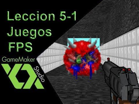 Tutorial De Juegos FPS Con Game Maker Studio: ENEMIGOS thumbnail
