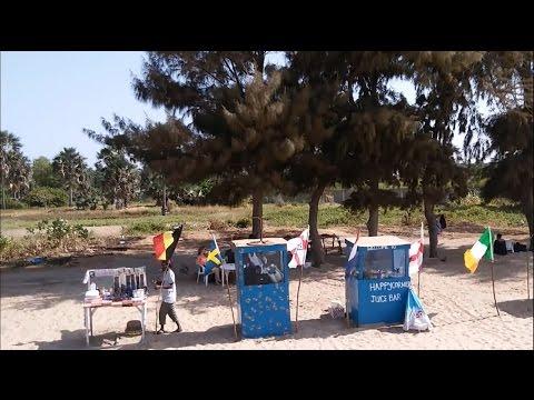 Kombo Beach Gambia - Zerotech Dobby Drone