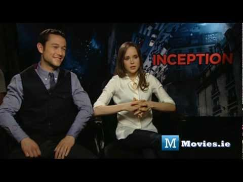 INCEPTION - Set Interview with Ellen Page & Joseph Gordon Levitt (from The Dark Knight Rises)