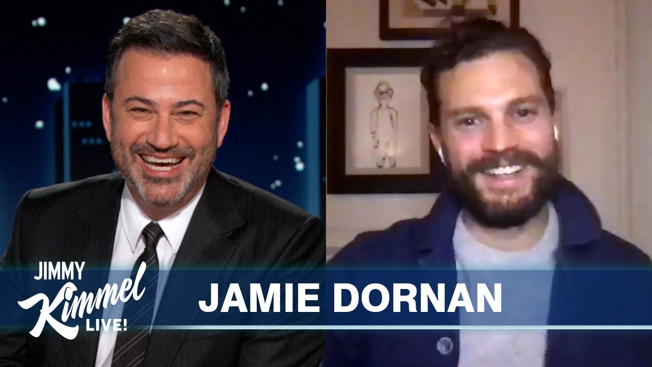 Download Jamie Dornan's Daughters are Teaching Him Patience in Quarantine