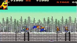 Green beret - 1985 Konomi, Arcade Games
