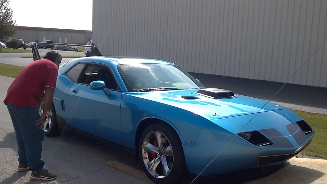 Dodge Challenger Srt8 Superbird Youtube