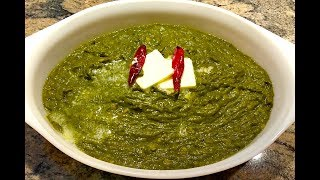 How To Make Saag | Palak Saag | Spinach Chana Dal Recipe