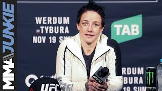 Jessica-Rose Clark full post fight interview at UFC Fight Night 121