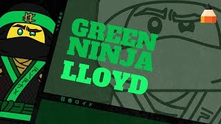 How To Draw Lloyd | Ninja Lloyd | The LEGO Ninjago Movie | Animation