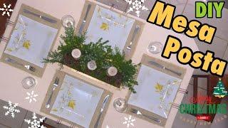 DIY - Mesa Posta Para o NATAL GASTANDO POUCO - Faça Seu Natal DIY