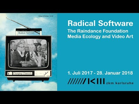 Radical Software. The Raindance Foundation, Media Ecology and Video Art (Deutsch)