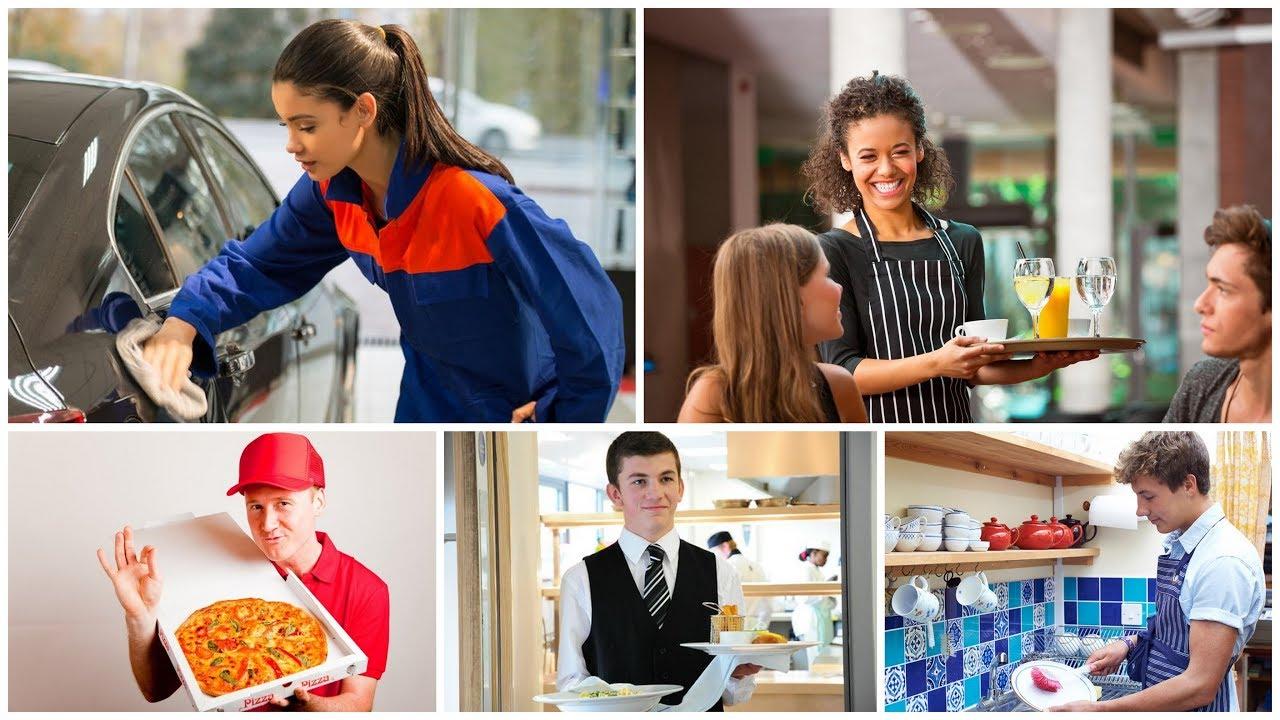 Student jobs teen jobs