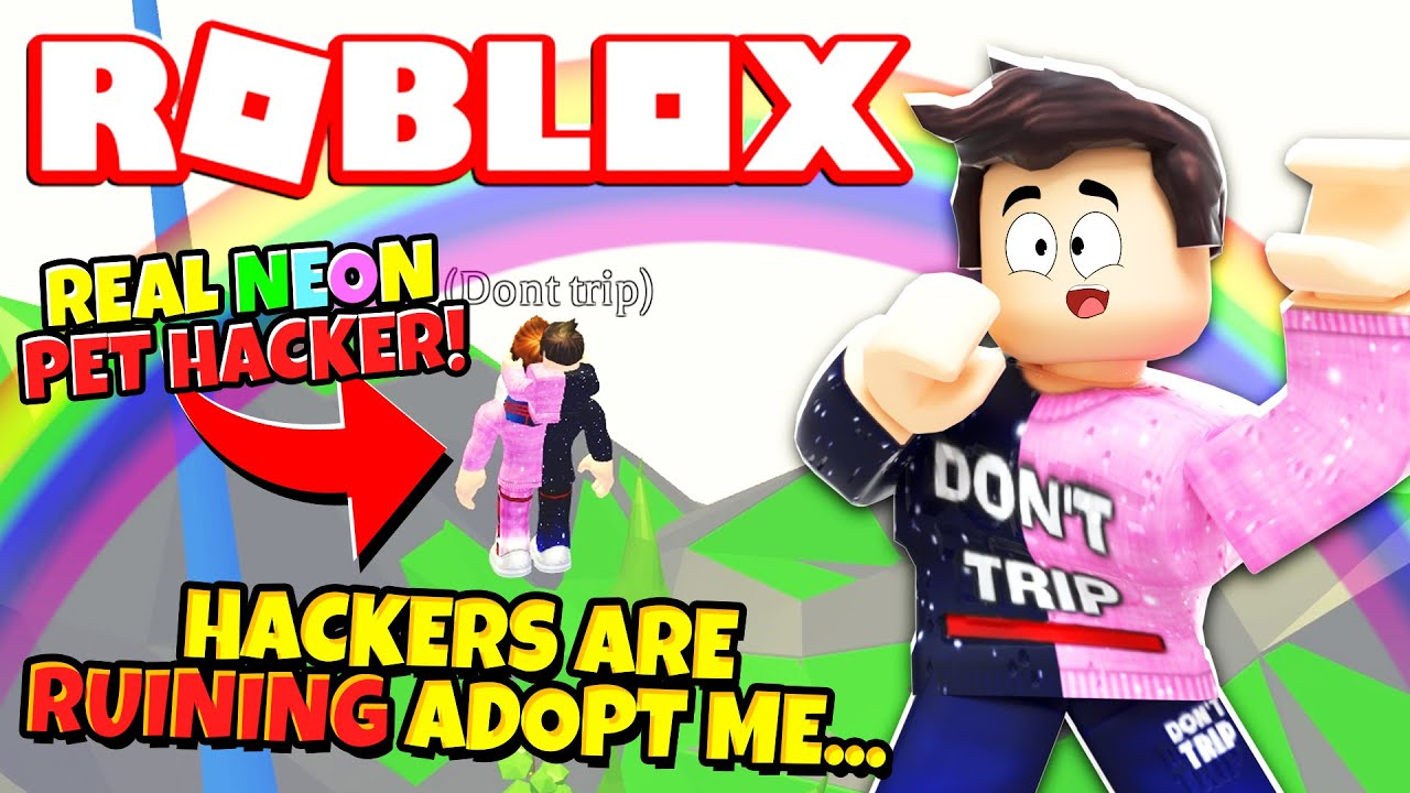 Hackers Are Ruining Adopt Me Roblox Youtube