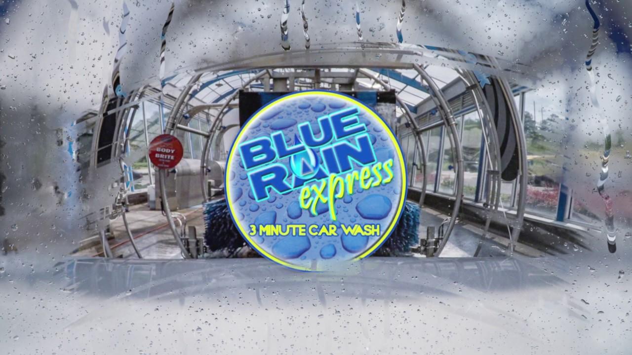Blue Rain Express 3 Minute Car Wash