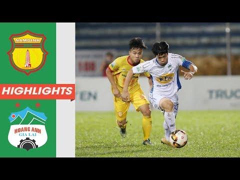 Vòng 24 V-League: Nhìn lại trận đấu đầy nỗ lực của Hoàng Anh Gia Lai trước Nam Định | HAGL Media