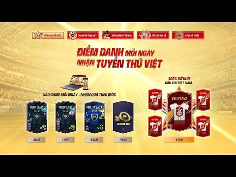 Đăng nhập mỗi ngày, nhận tuyển thủ Việt trong FIFA Online 4 #shorts